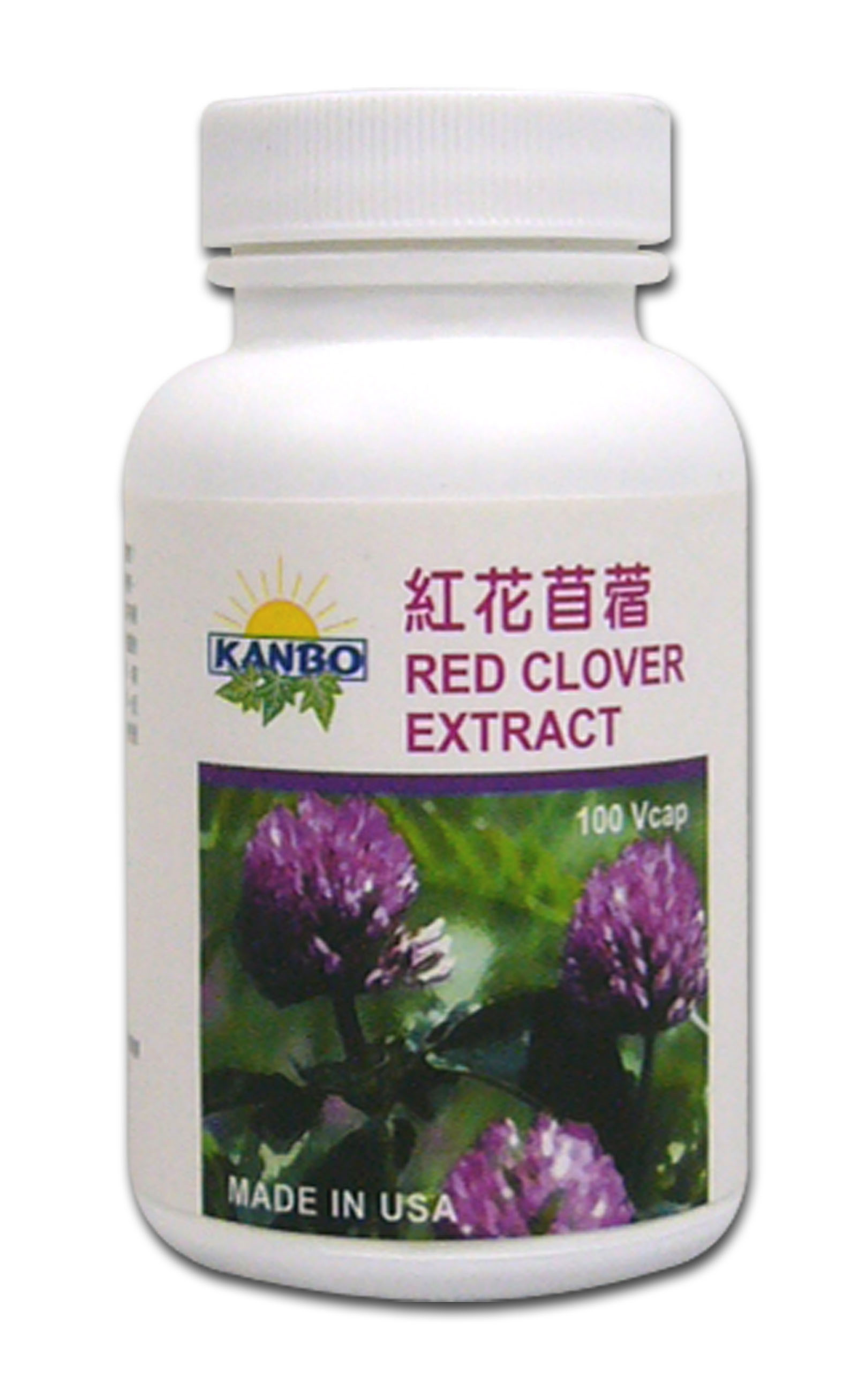 Red Clover Extract紅花苜蓿---100粒(植物膠囊)