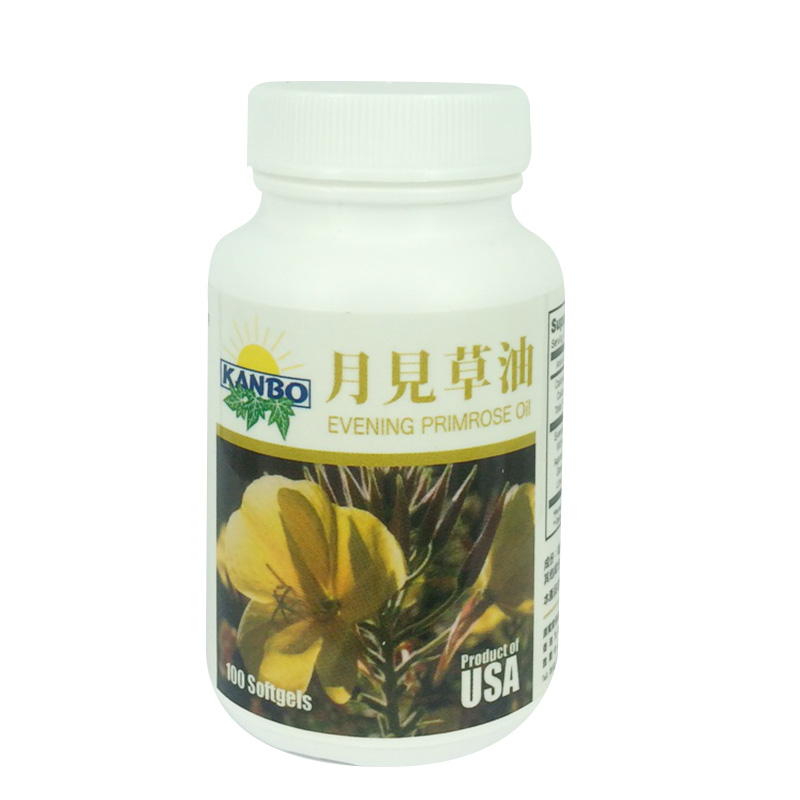 Evening Primrose Oil月見草油500mg x 100 Softgels
